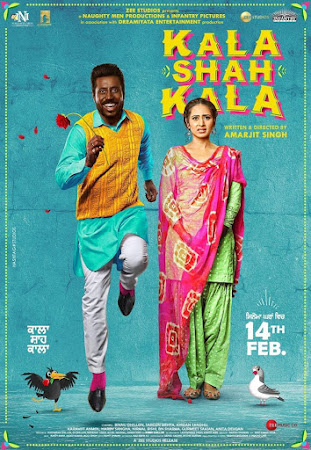 Poster Of Pollywood Movie Kala Shah Kala 2019 300MB PdvdRip 480P Full Punjabi Movie