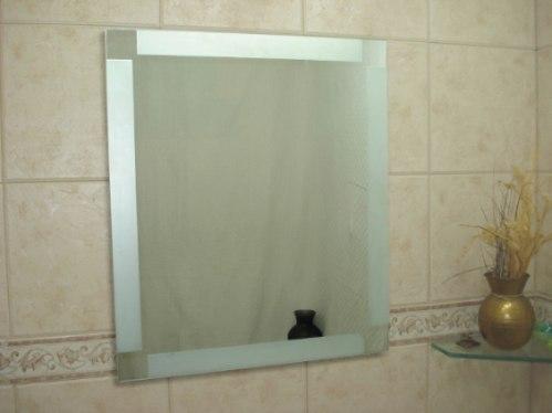 Espejos esmerilados para ba os hogar decoraci n y dise o - Espejos de bano de diseno ...