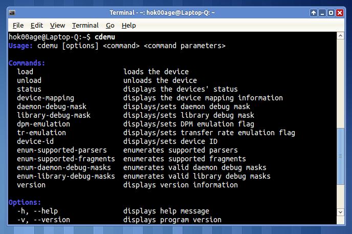 CDEmu: Aplikasi CD/DVD virtual untuk Linux