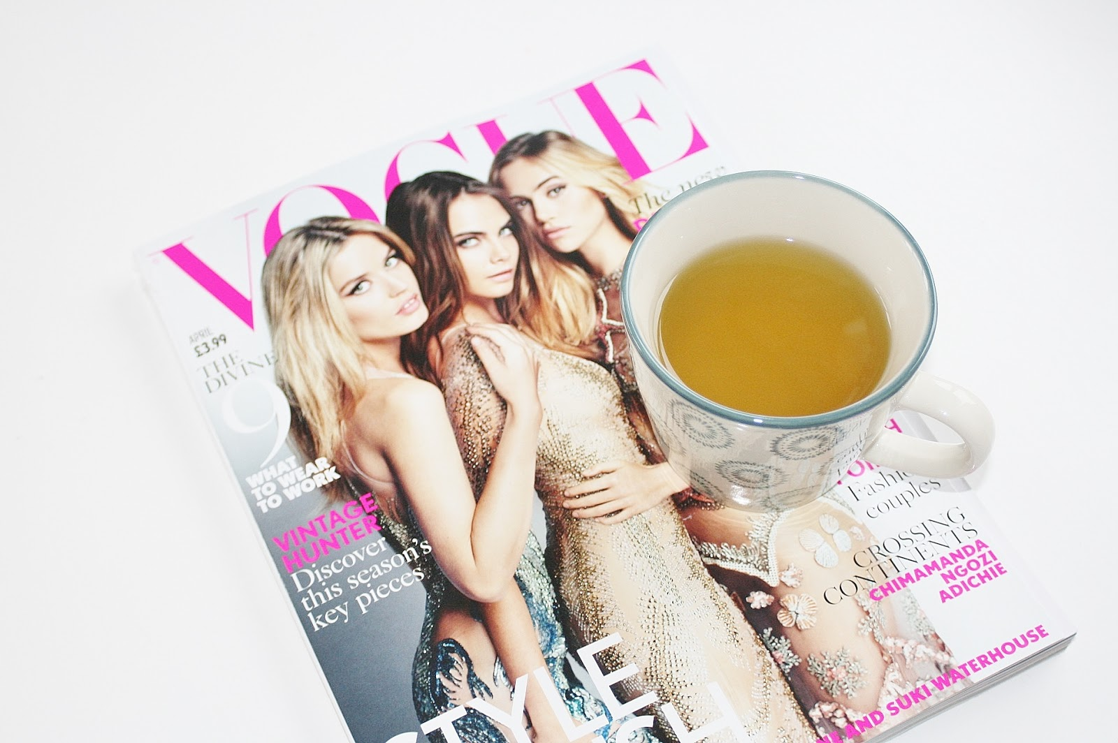 Katherine Penney Chic Green Tea Vogue Magazine