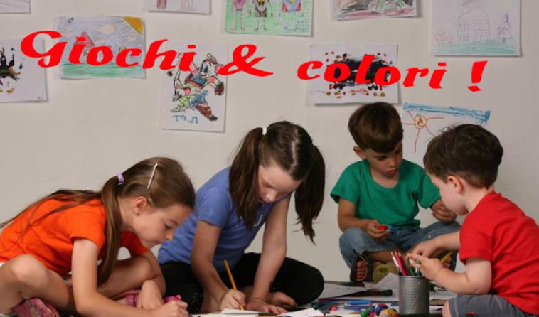 Giochi  e colori ! Schede didattiche del Maestro Fabio