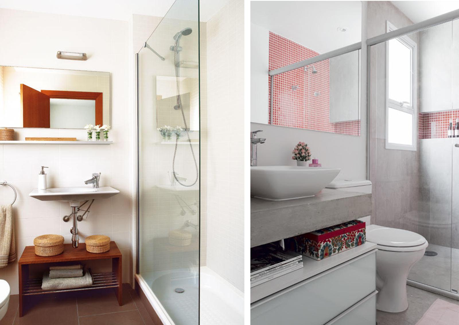 Decorar Un Baño Facil: Fácil: SMALL & LOWCOST: 8 CONSEJOS PARA DECORAR BAÑOS PEQUEÑOS
