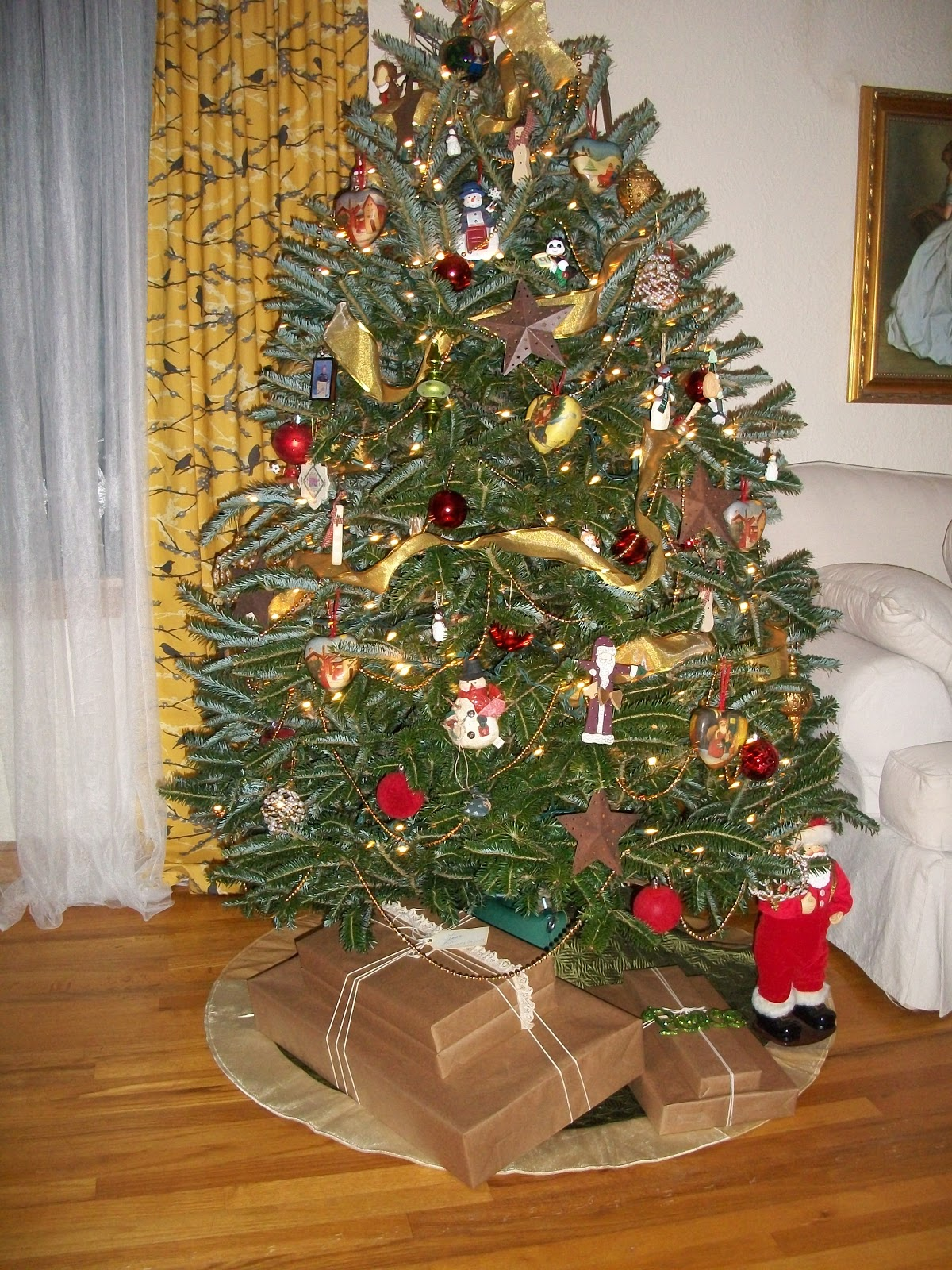 Glass Tree Toppers Christmas