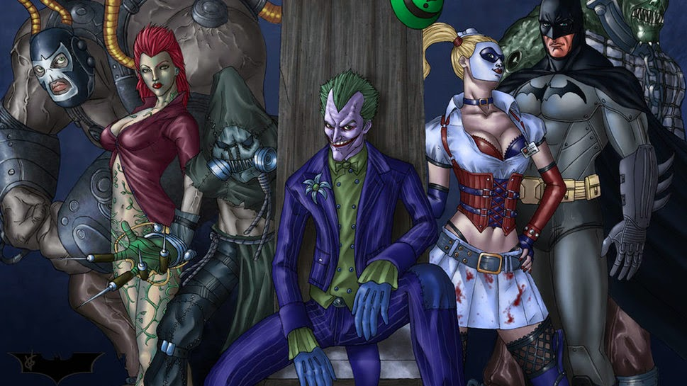 Wallpaper Batman Villains