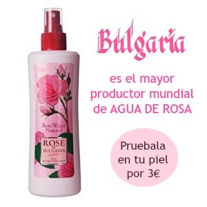 Agua de rosa de Bulgaria, 230 ml.