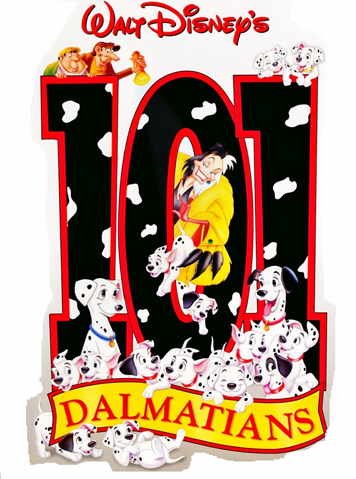 101 dalmatians free printable notebook