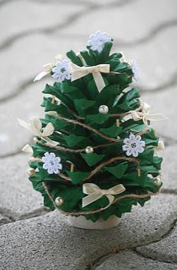 Árvores de natal diferentes e criativas