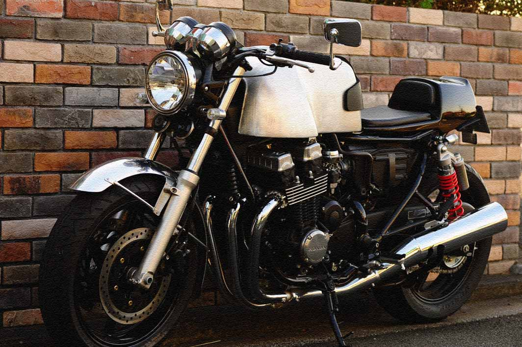 Honda Gb250 Ellaspede further Scrambler Xtz750 together with Honda Cb750 Caferecer Custom also Honda cb 750 c 1983 likewise Honda Cb 125 R. on honda cb 750 motorcycle