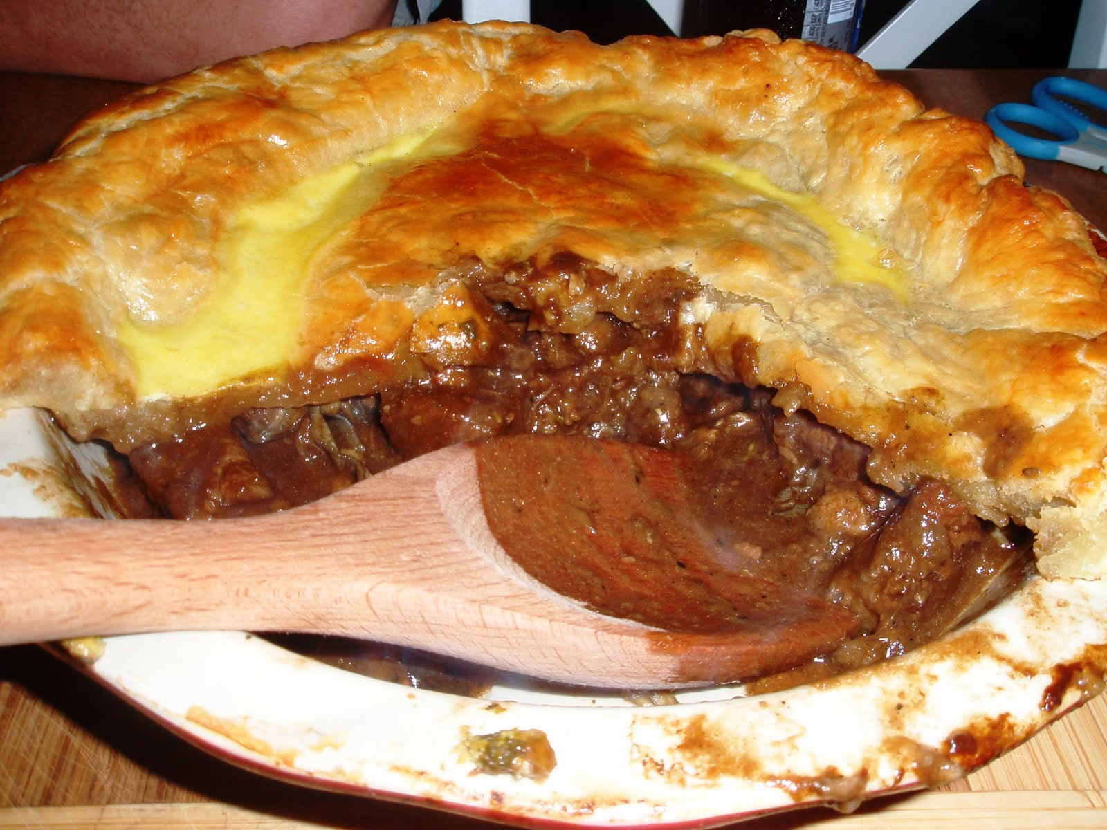 Culinary Orgasm: Beef and Oyster Pie with Guinness