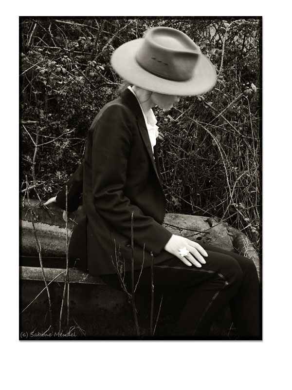 Psynopsis Akubra Hat Alexander McQueen Blazer Costume National Trousers