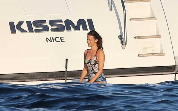 Sweden Royal Family At Holiday In French Riviera