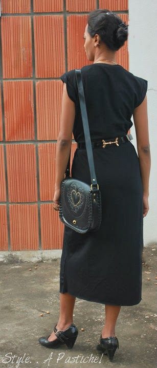 Black maxi with animal prints, Fall Trends, How to wear a maxi