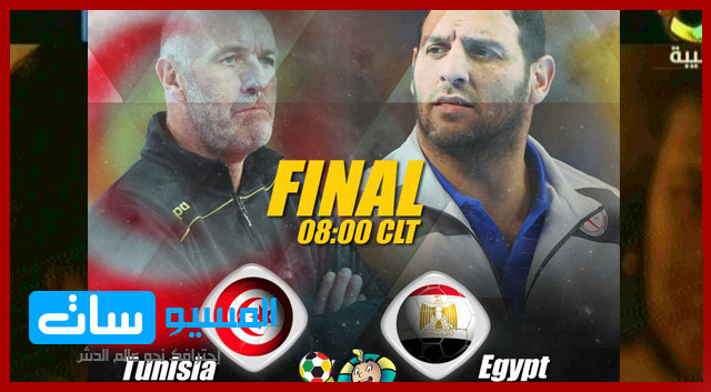 مصر وتونس في نهائي امم افريقيا لكرة اليد