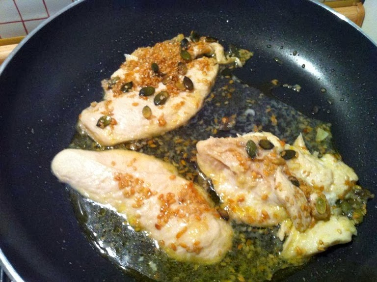 Ricetta ricevuta pollo o tacchino allo zenzero di Silvia Grillo