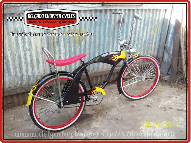 Bicicleta Lowrider Hot Rod - DCC