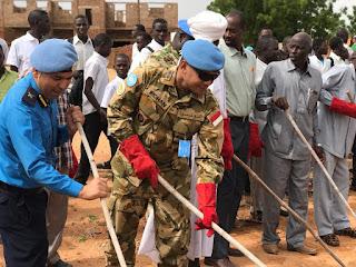 Satgas Yon Komposit TNI Konga XXXV-D/UNAMID Ikut Peringati Nelson Mandela International Day