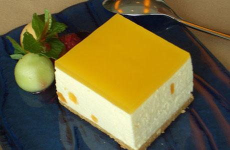 10 FOOD RECIPES Mango Cheesecake