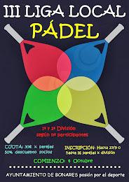 III LIGA LOCAL DE PÁDEL