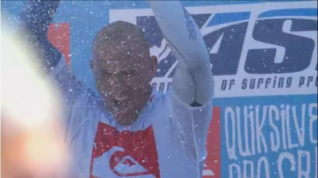 Kelly Slater gana el Quiksilver Pro France