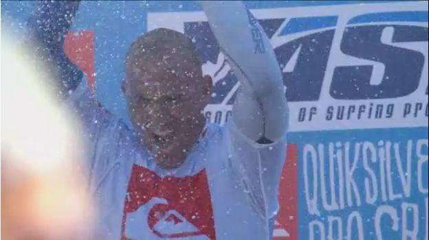 Kelly Slater gana el Quiksilver Pro France