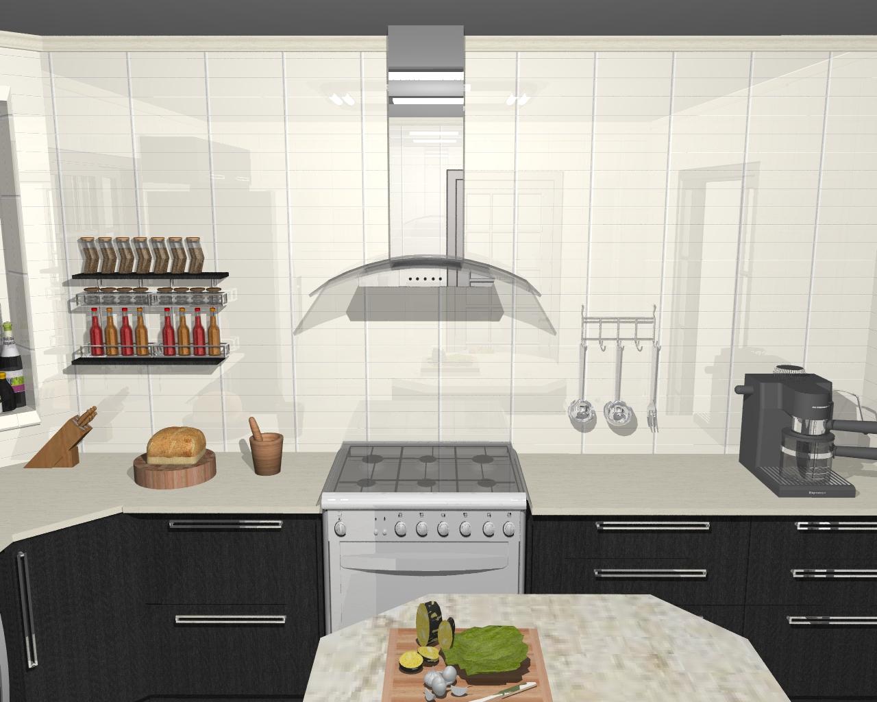 Joyce Rodrigues: Cozinha no Promob. #9A8C31 1280 1024