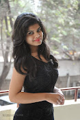 Alekya Photos in Black at Aa Aiduguru Press meet-thumbnail-14