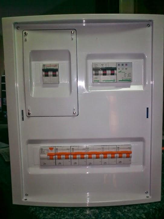 El blog del electricista elementos de un cuadro el ctrico for Cuadro electrico componentes