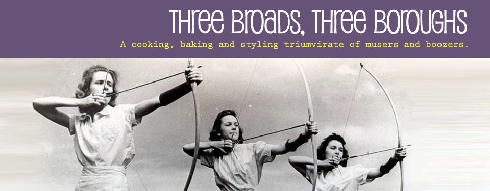 three broads, three boroughs