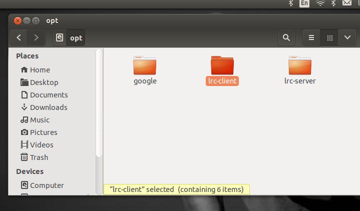 Linux Remote Control