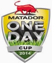 Matador BBQs One-Day Cup 2014