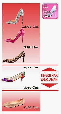 Kelebihan Sepatu Wanita Hak Rendah