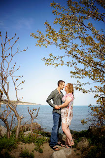 port stanley engagement session wedding photography