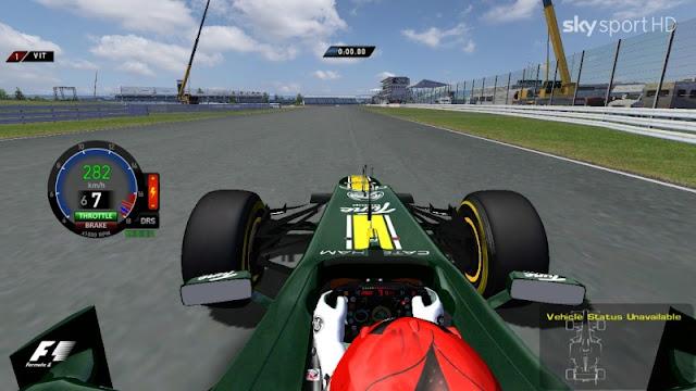 rFactor F1 RMT 2012 mod primera versión