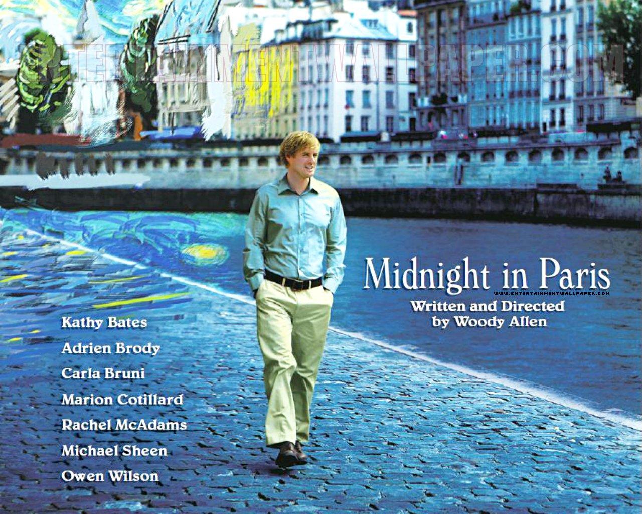 Resultado de imagen de woody allen midnight in paris