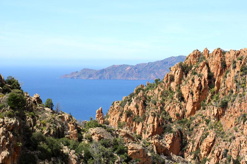 calanque piana corse patrimoine naturel mondial unesco paysage