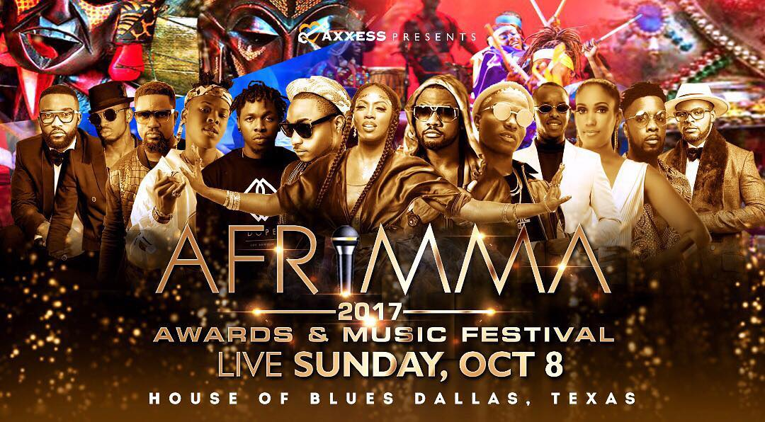 AFRIMMA 2017: LIVE IN DALLAS, U.S.A