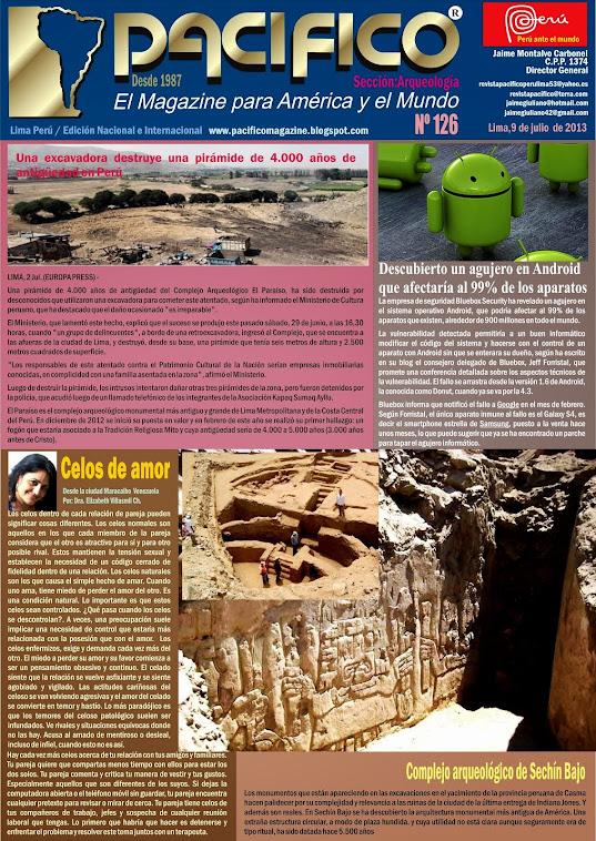 Revista Pacífico Nº 126 Arqueología