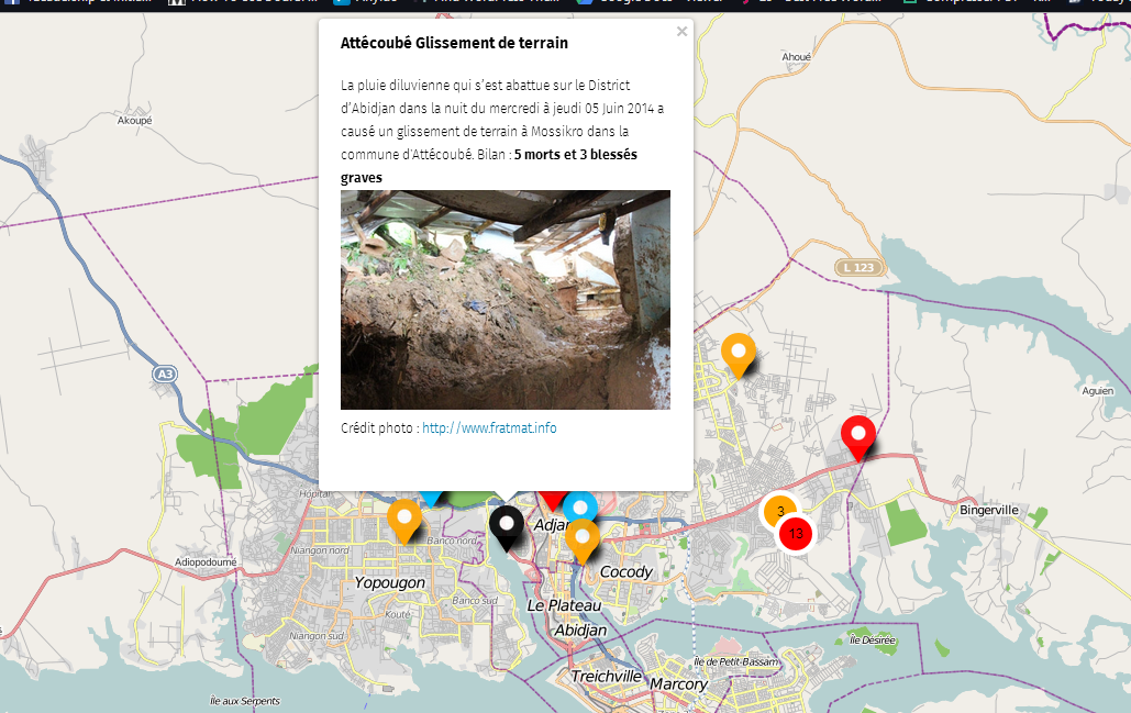 Le mapping des inondations (à Abidjan), A Unix Mind In A Windows World