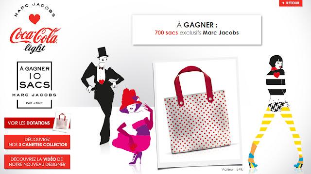 700 sacs exclusifs Marc Jacobs