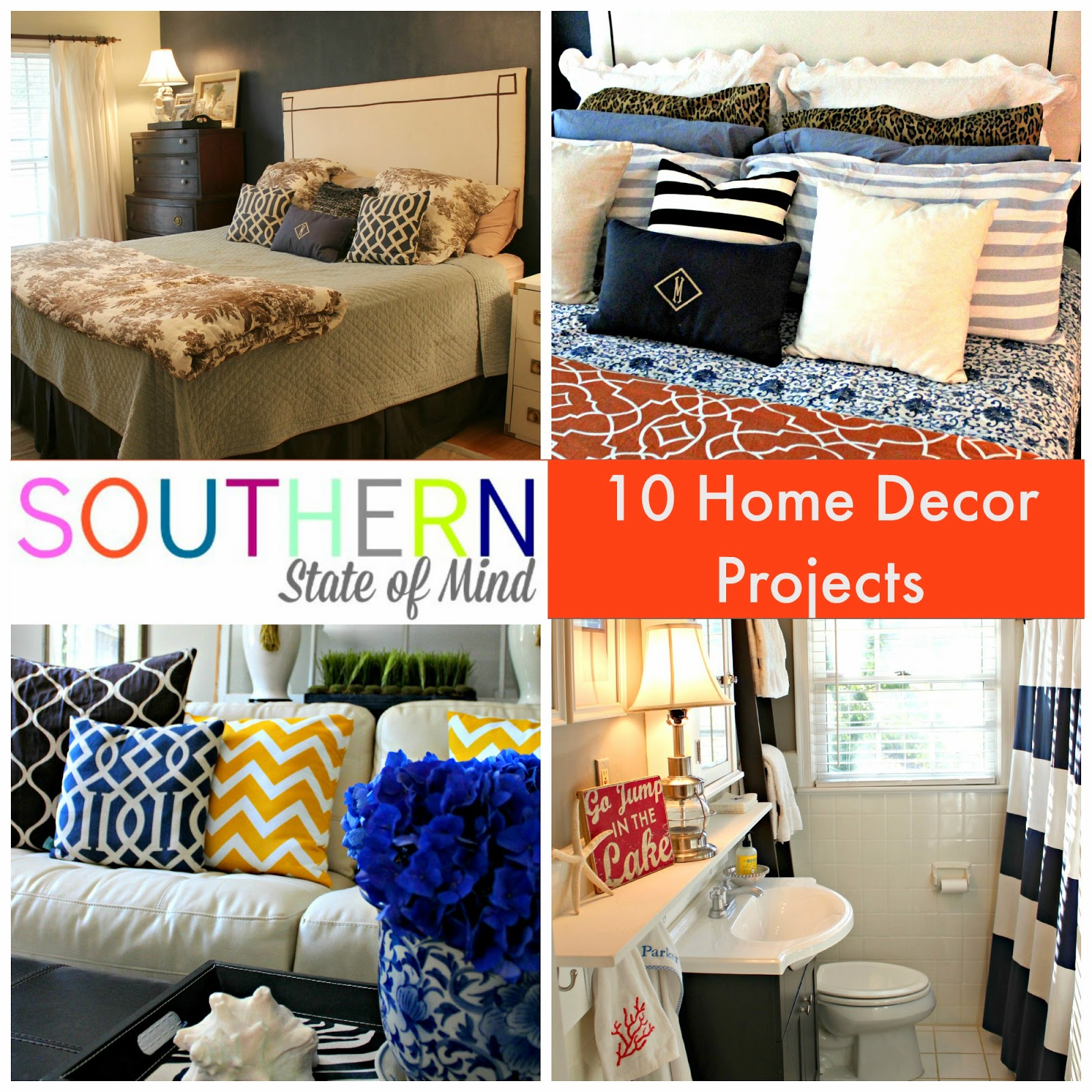Southern State Of Mind Home Decor