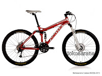 Sepeda Gunung United Miami FX77 24 Speed Hydraulic Disc Brake - XC Full Suspension Series
