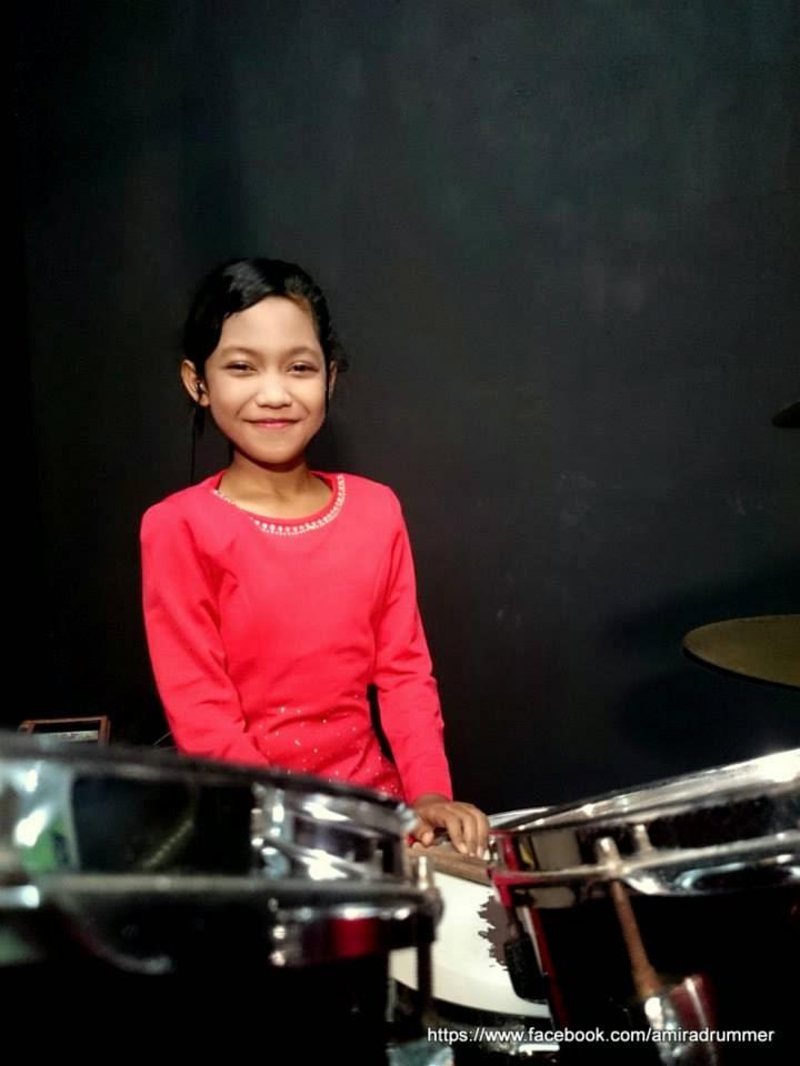 Baru berusia 11 tahun adik Amira ada bakat luarbiasa