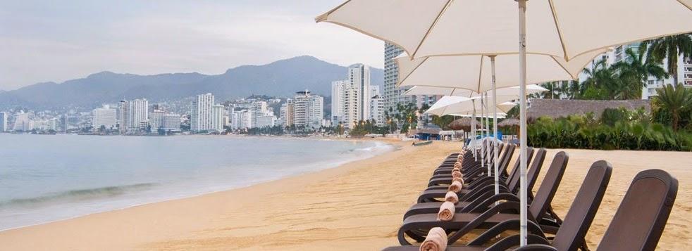 Vacaciones en las playas de Acapulco