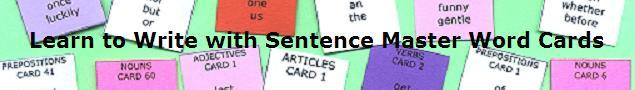 SentenceMaster Writing Games