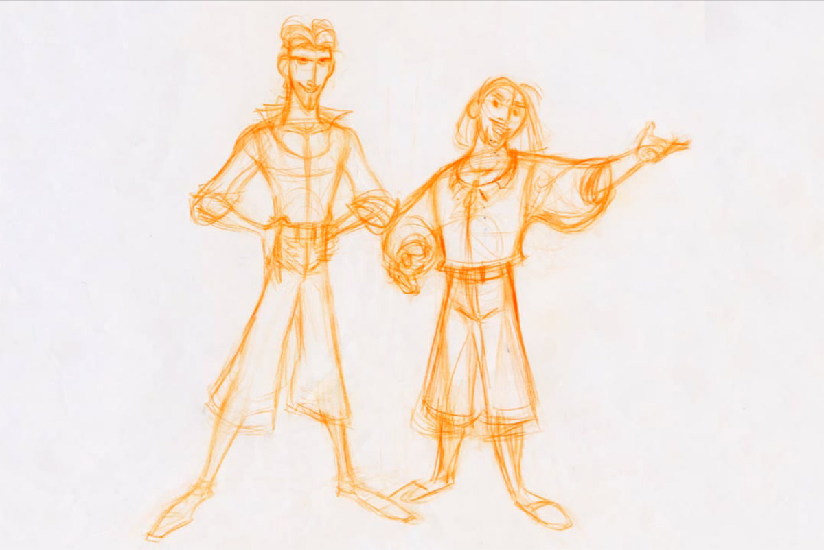 Character Design Library : Living lines library the road to el dorado