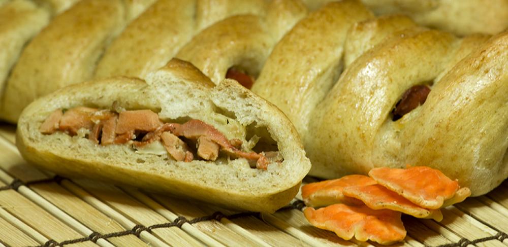 """... , Organic Food: Chicken Mushroom Recipe - """"Chicken"""" Stuffed Bread"""