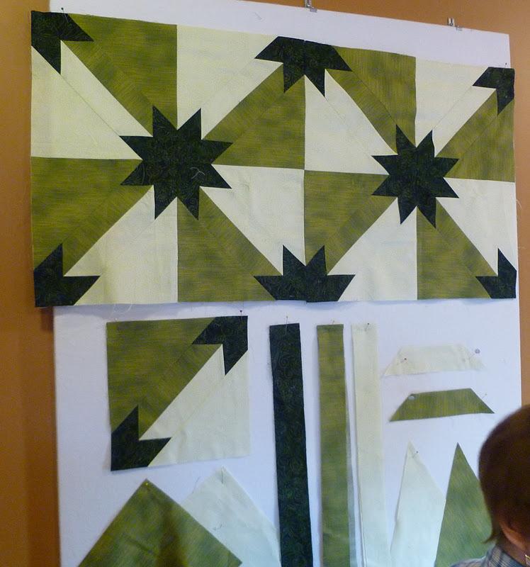 Sew Rip Sew Hunter Star Quilt Pattern