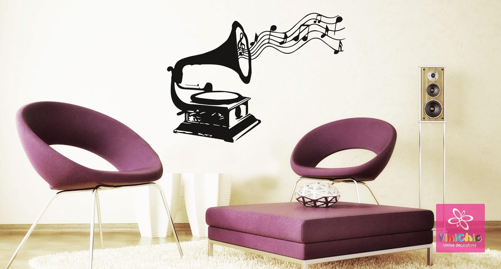 Vinilo decorativo salon affordable vinilo decorativo en - Salones con vinilos decorativos ...