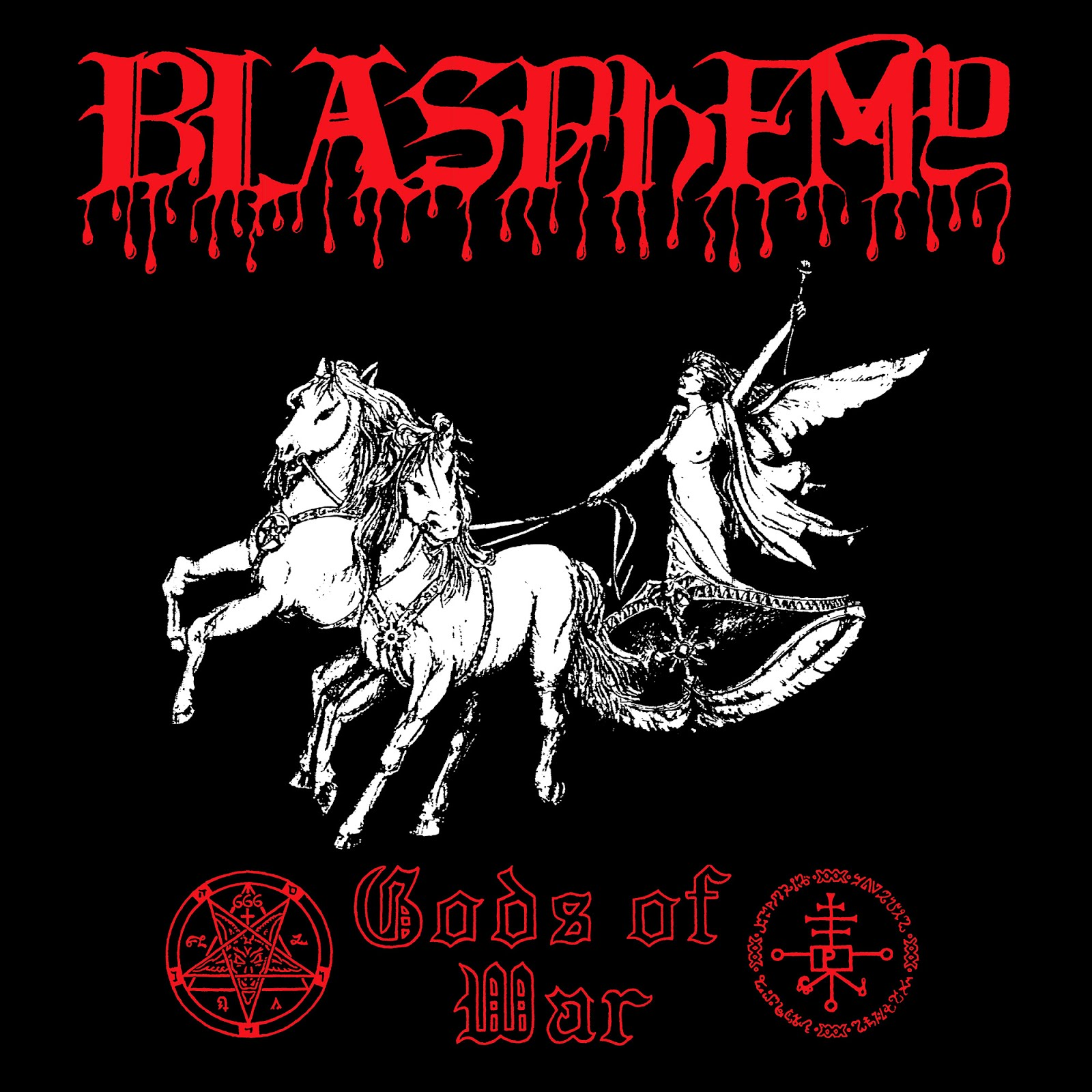 Blasphemy - Gods of War - Press Release + Stream.