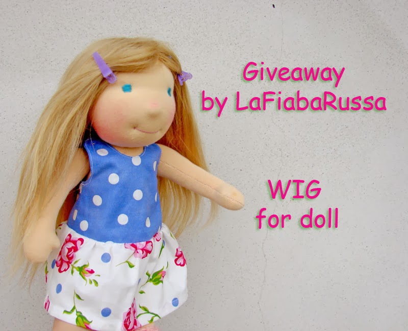 Giveaway - wig for doll
